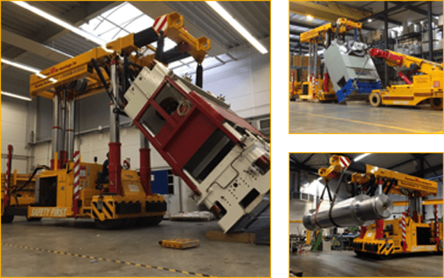 Trilifter/boomtruck diesel